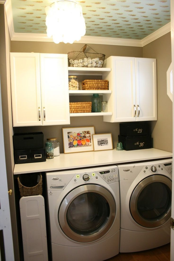 Best ideas about Pinterest Laundry Room . Save or Pin Small Laundry Room Ideas Small Laundry Room nidahspa Now.