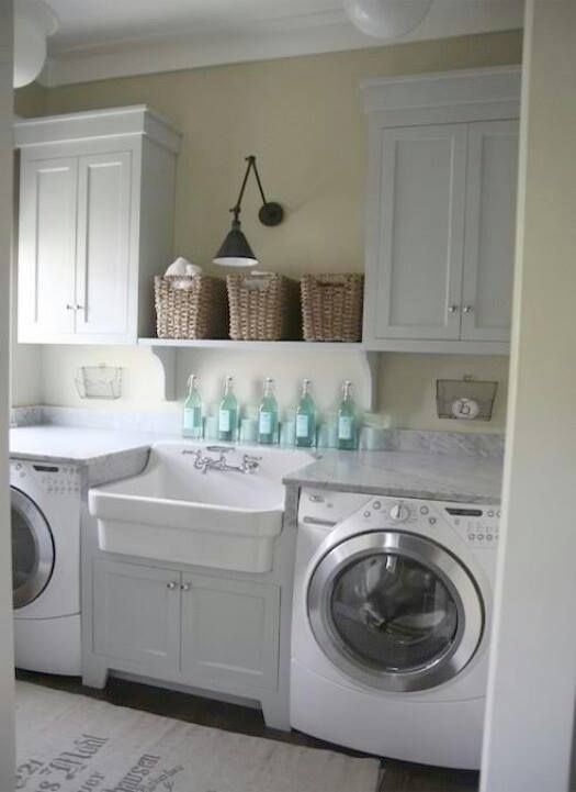 Best ideas about Pinterest Laundry Room . Save or Pin Beautiful laundry room Utility Room Now.