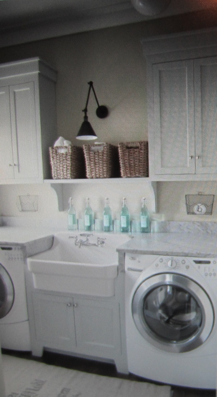 Best ideas about Pinterest Laundry Room . Save or Pin laundry room Sunshine Now.