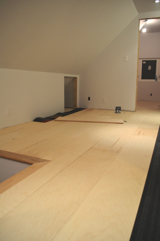 Best ideas about Plywood Floor DIY . Save or Pin The Bennett House DIY plywood floors Now.