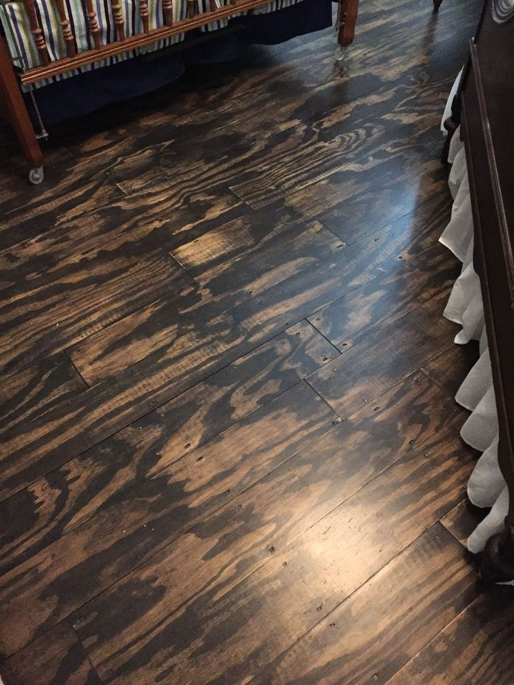 Best ideas about Plywood Floor DIY . Save or Pin DIY Plywood Plank Floors Now.
