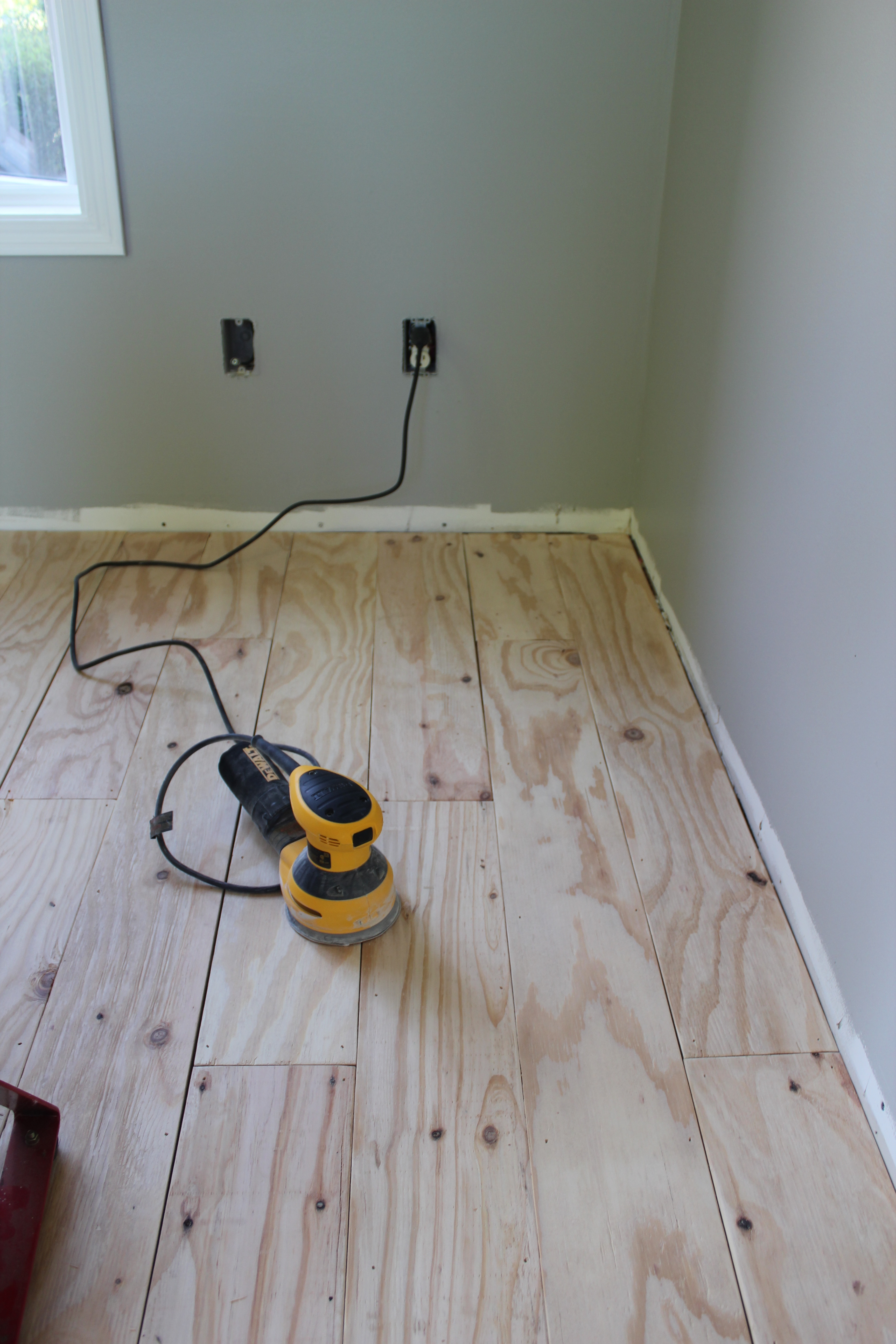Best ideas about Plywood Floor DIY . Save or Pin DIY Plywood Plank Flooring Now.