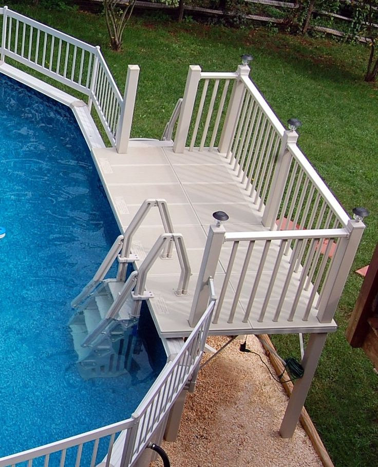 Best ideas about Pool Decks For Above Ground Pools . Save or Pin Best 25 Pool deck plans ideas on Pinterest Now.