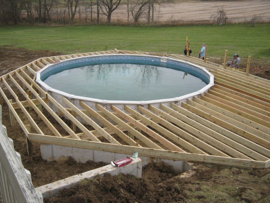 Best ideas about Pool Decks For Above Ground Pools . Save or Pin Ideas of Ground Pool Deck Plans Now.