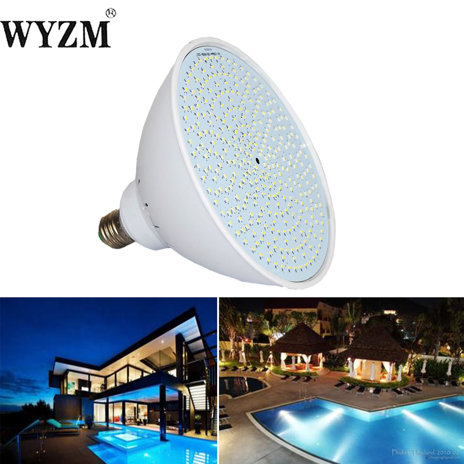 Best ideas about Pool Light Bulb . Save or Pin WYZM 120V 35W Color Changing Swimming Pool Lights LED Now.