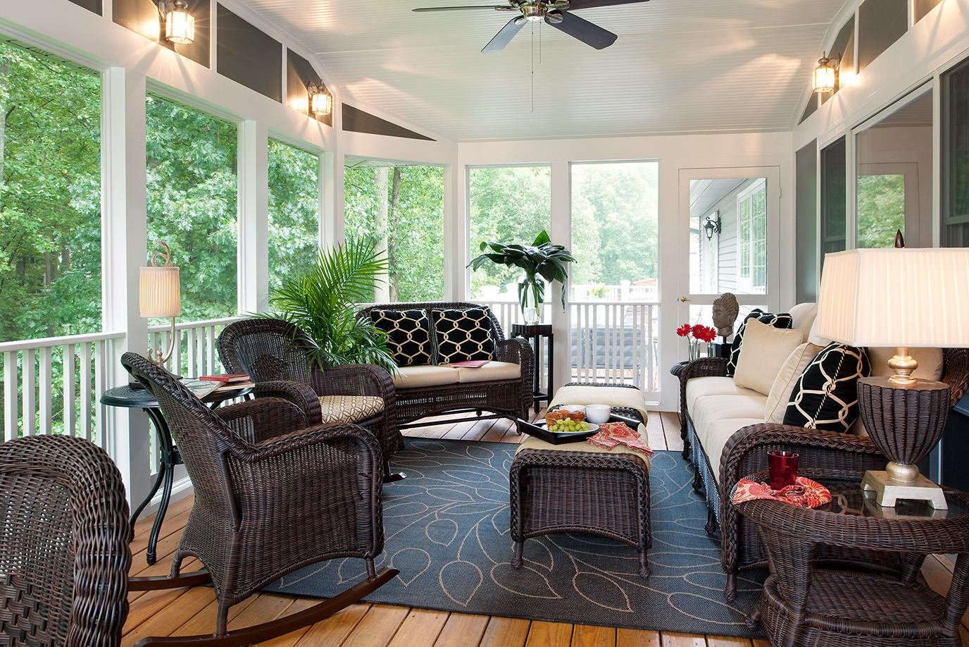 Best ideas about Porch Furniture Ideas . Save or Pin screened porch 8 Now.