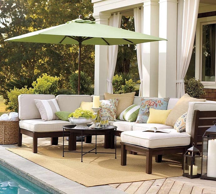 Best ideas about Porch Furniture Ideas . Save or Pin 15 Awesome Design Outdoor Garden Furniture Ideas Now.