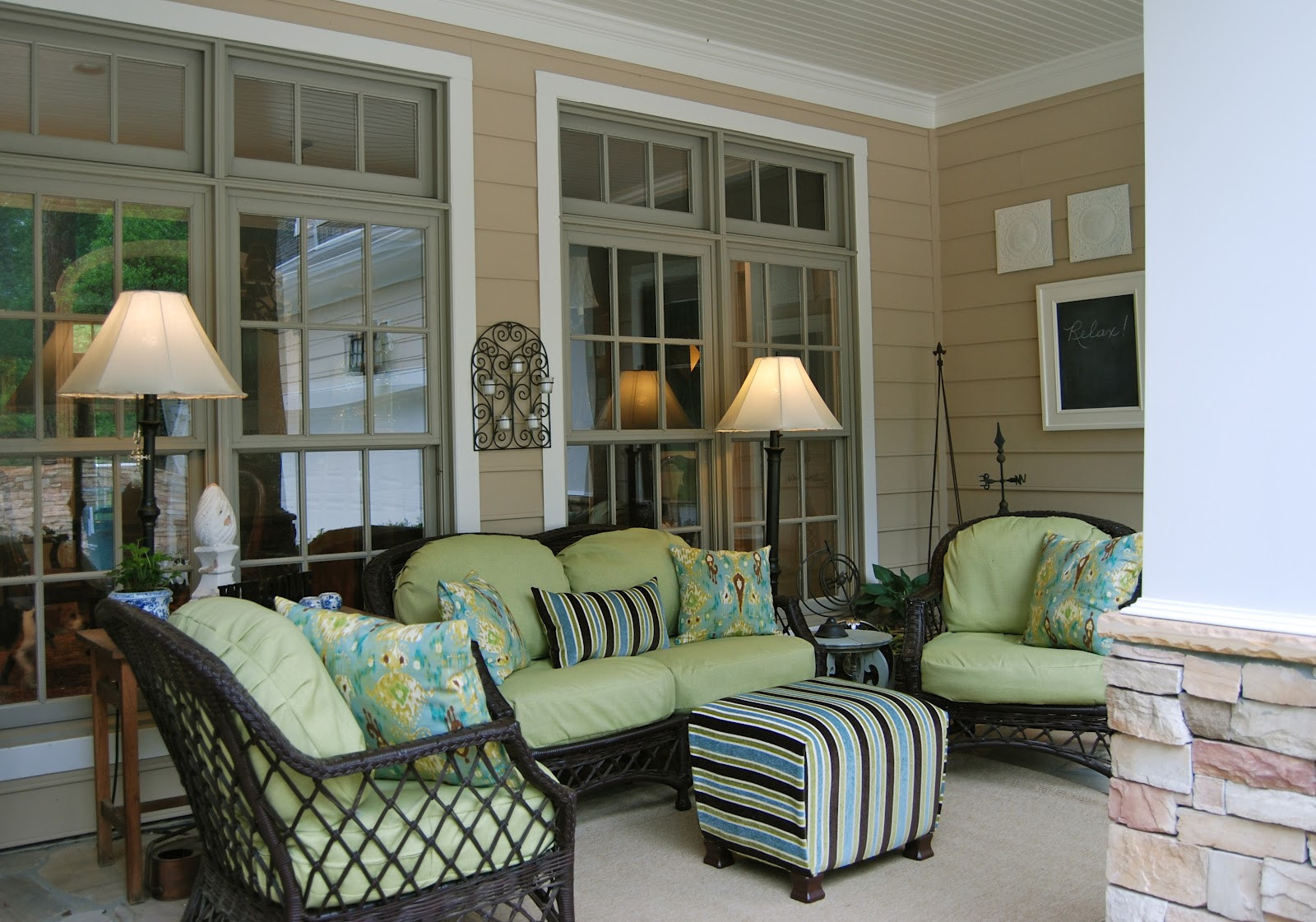 Best ideas about Porch Furniture Ideas . Save or Pin 25 Inspiring Porch Design Ideas For Your Home Now.