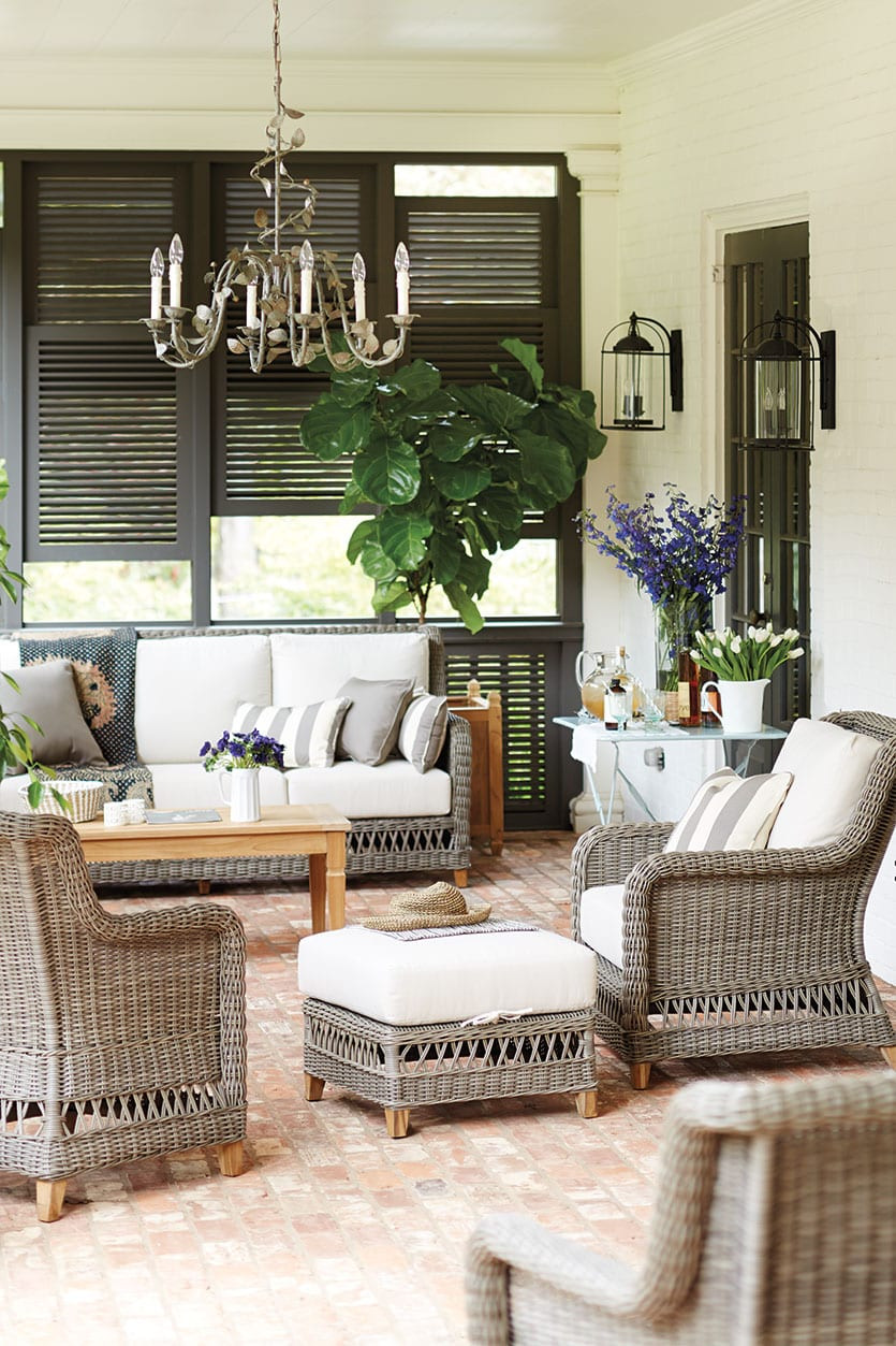 Best ideas about Porch Furniture Ideas . Save or Pin 15 Ways to Arrange Your Porch Furniture Now.