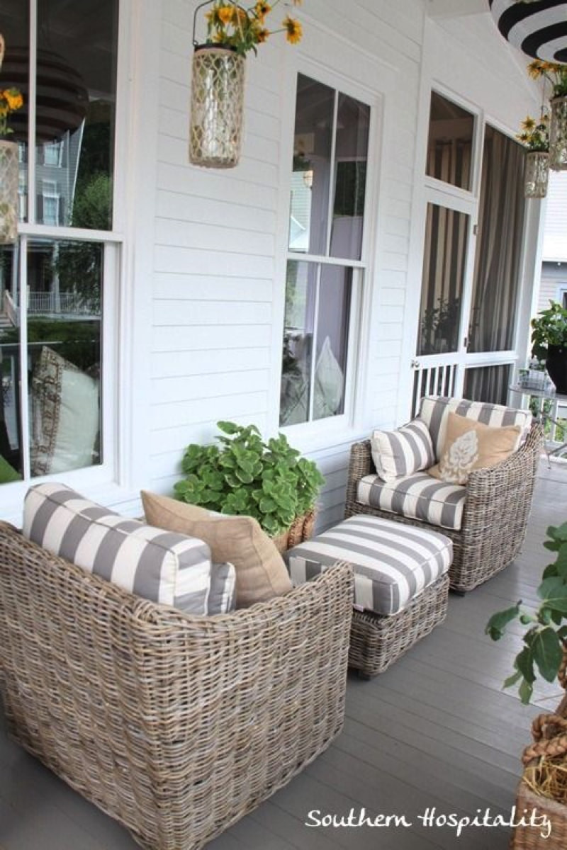 Best ideas about Porch Furniture Ideas . Save or Pin Designer Outdoor Patio Furniture Now.