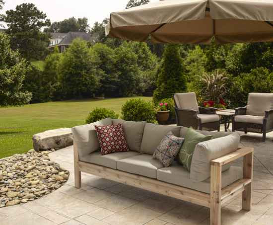 Best ideas about Porch Furniture Ideas . Save or Pin 18 DIY Patio Furniture Ideas For An Outdoor Oasis Now.