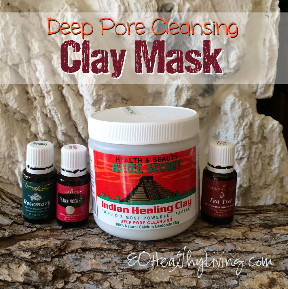 Best ideas about Pore Cleansing Mask DIY . Save or Pin Essential Healthy Living 12 Days of Christmas DIY Now.