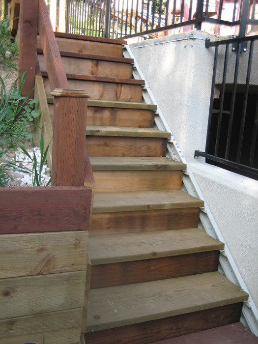 Best ideas about Prefab Outdoor Stairs . Save or Pin Good Deck Stairs in Prefabricated Dormers Taupe Coloring Now.