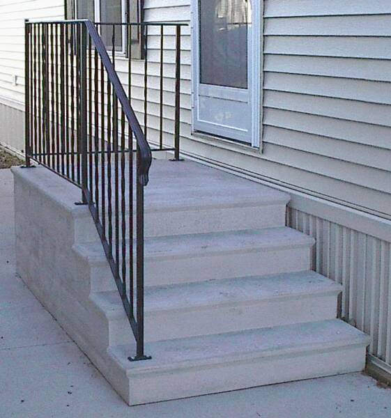 Best ideas about Prefab Outdoor Stairs . Save or Pin Small Home Exterior Design Prefabricated Porch Steps Now.