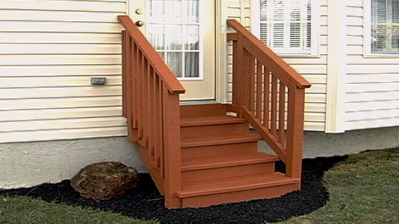 Best ideas about Prefab Outdoor Stairs . Save or Pin Freestanding bath small prefab wooden steps for outside Now.