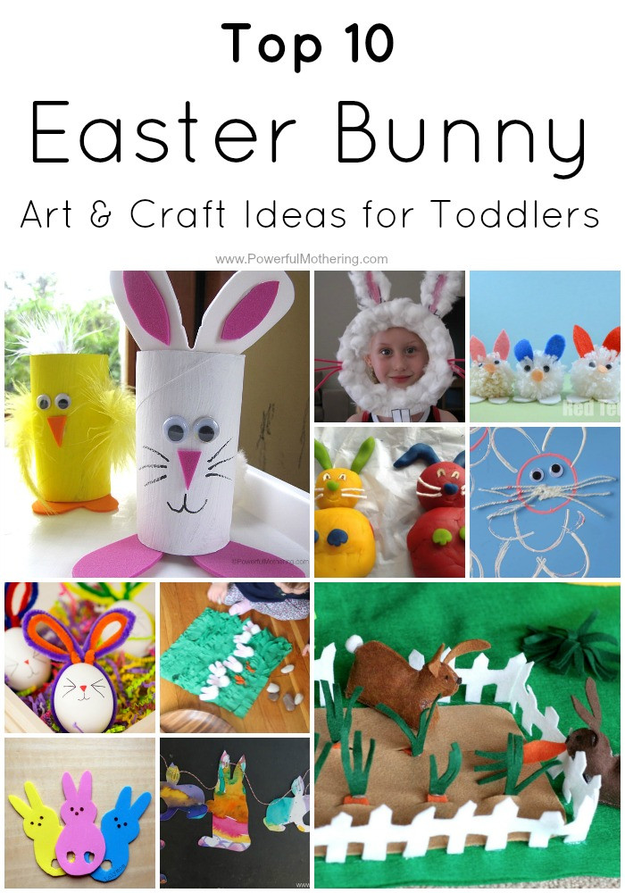 Best ideas about Preschoolers Arts And Crafts Ideas . Save or Pin Top 10 Easter Bunny Art & Craft Ideas for Toddlers Now.
