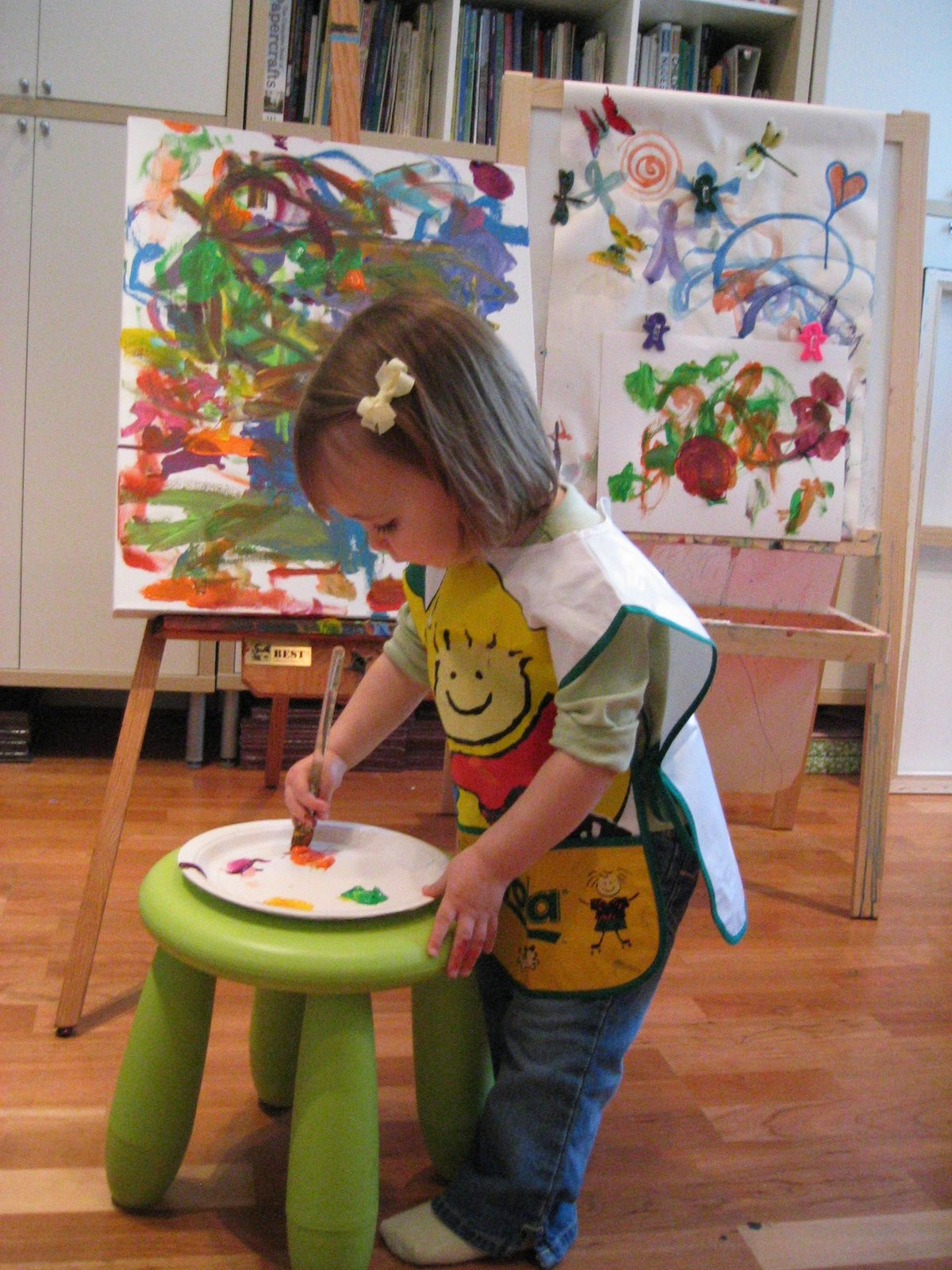 Best ideas about Preschoolers Arts And Crafts Ideas . Save or Pin Pink and Green Mama Making Art At Home My Favorite Art Now.