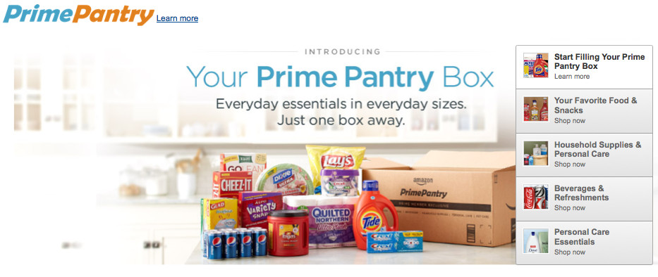 Best ideas about Prime Pantry Box . Save or Pin Amazon delivers pasta pickles and popcorn with Prime Now.