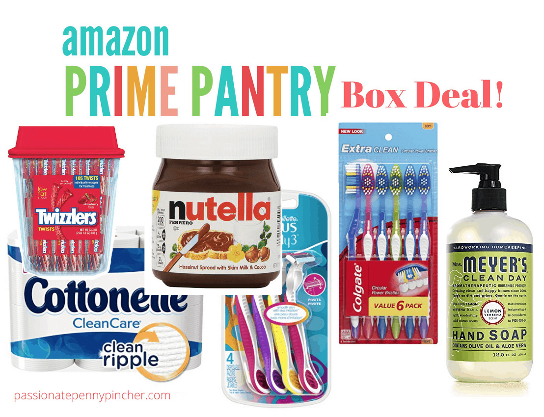 Best ideas about Prime Pantry Deals . Save or Pin HOT $6 OFF 5 Amazon Prime Pantry Items Nutella only $2 Now.
