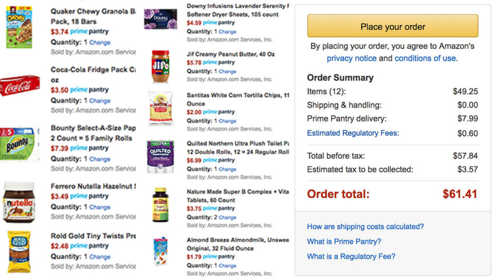 Best ideas about Prime Pantry Delivery Fee . Save or Pin Amazon Prime Pantry Review Should Prime Members Use The Now.