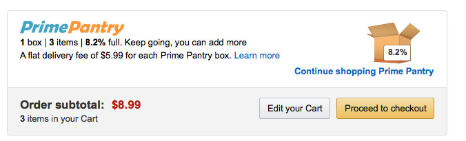 Best ideas about Prime Pantry Delivery Fee . Save or Pin How Does Amazon Prime Pantry Work Now.