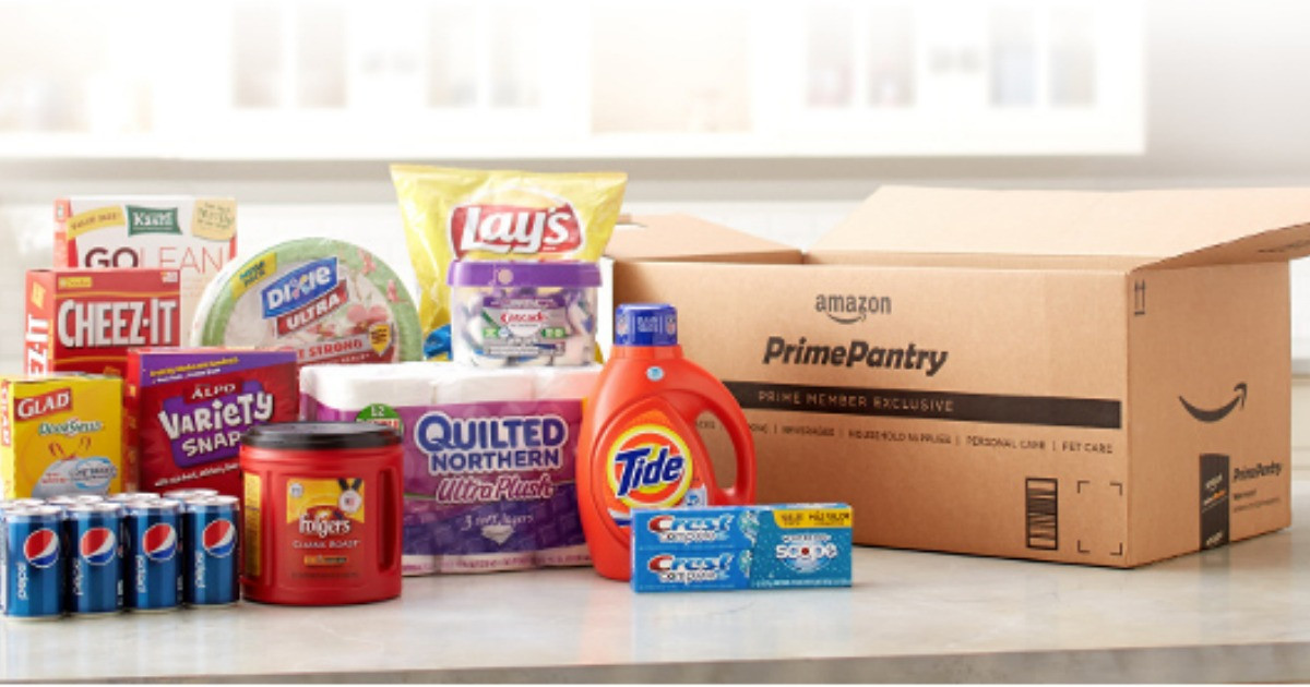 Best ideas about Prime Pantry Delivery Fee . Save or Pin Amazon Prime $10 f $60 Prime Pantry Order Hip2Save Now.