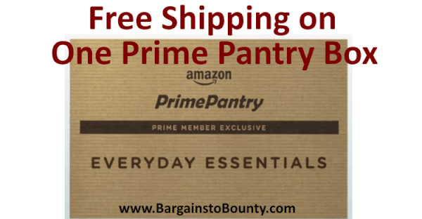 Best ideas about Prime Pantry Shipping . Save or Pin How to live a bountiful life on a bud • Bargains to Bounty Now.