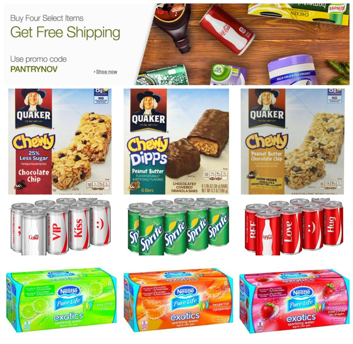 Best ideas about Prime Pantry Shipping . Save or Pin NEW Prime Pantry Coupons Buy 4 Select Items Get FREE Now.