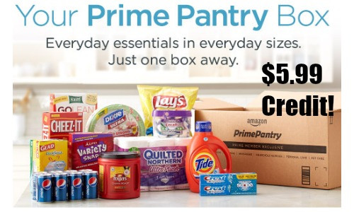 Best ideas about Prime Pantry Shipping . Save or Pin Free $5 99 Prime Pantry Credit With No Rush Shipping Now.