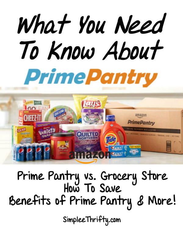 Best ideas about Prime Pantry Shipping . Save or Pin Amazon Prime Pantry How to Use it and Save Check Out How Now.