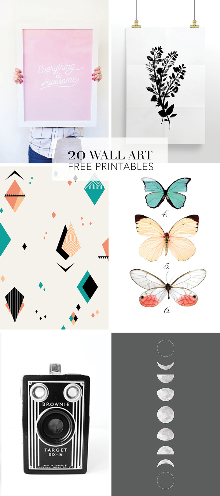 Best ideas about Printable Wall Art . Save or Pin Alice and Lois20 Favorite Wall Art Free Printables Alice Now.