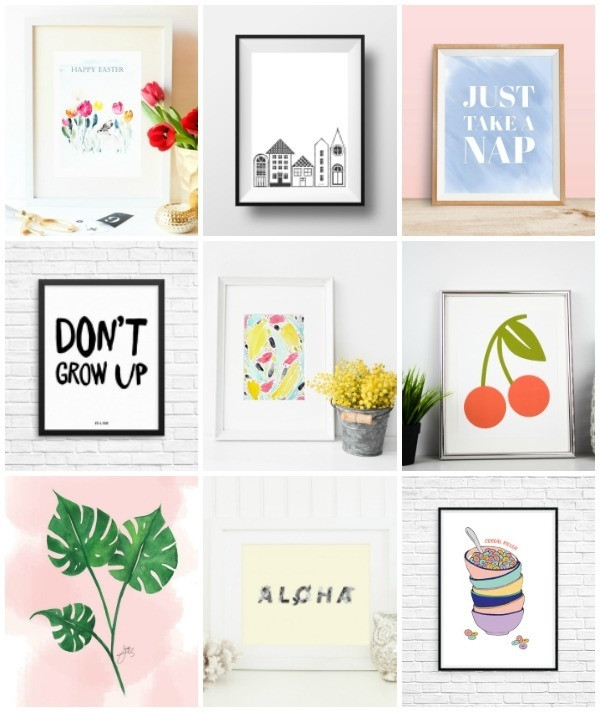 Best ideas about Printable Wall Art . Save or Pin 12 Free Printable Pieces of Wall Art Now.