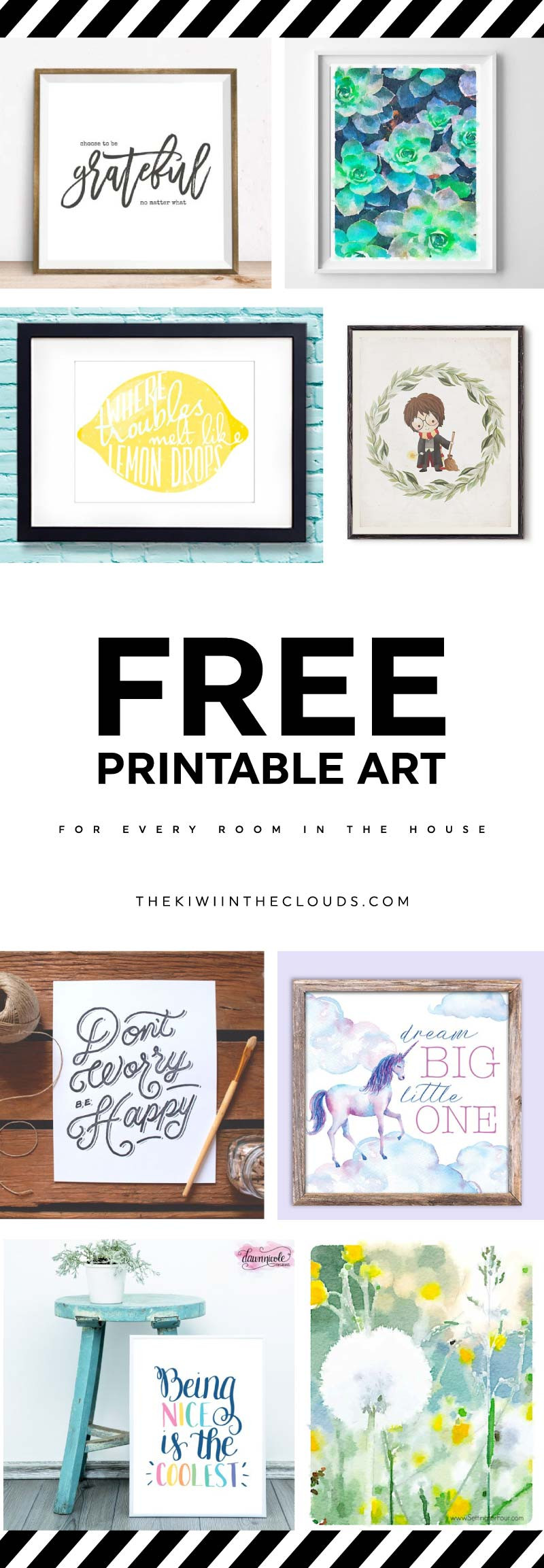 Best ideas about Printable Wall Art . Save or Pin 21 Free Printable Art Prints To Quickly Decorate The Now.