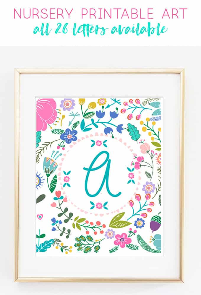 Best ideas about Printable Wall Art . Save or Pin Free Printable Art Baby Girl Gift Idea Now.