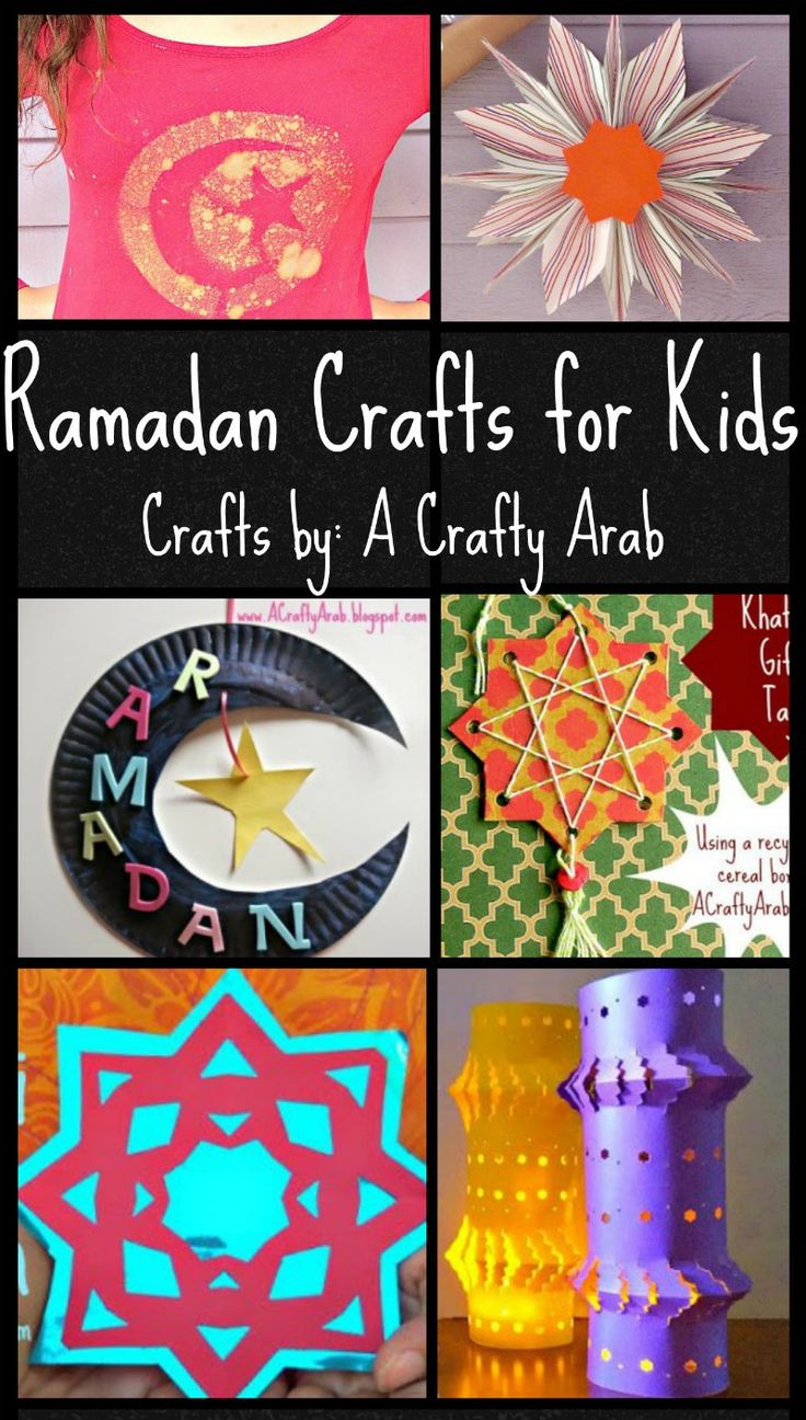 "Best ideas about Project For Kids . Save or Pin 6 Ramadan Crafts for Kids from ""A Crafty Arab"" Now."