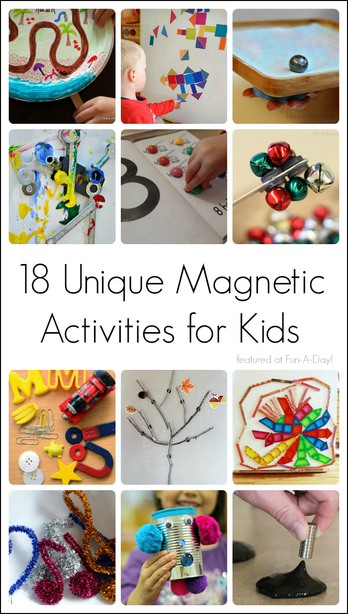 Best ideas about Projects For Kids . Save or Pin Magnet Activities for Learning and Play Now.
