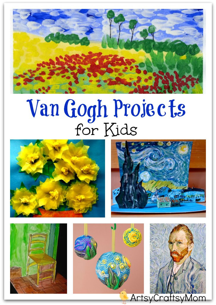 Best ideas about Projects For Kids . Save or Pin Top 10 Van Gogh Projects for Kids Inspire your Heart Now.