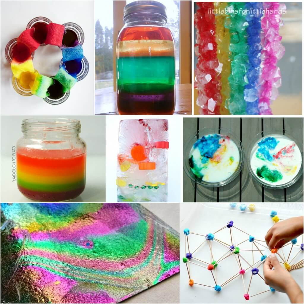 Best ideas about Projects For Kids . Save or Pin 25 Rainbow Activities for Kids Playdough To Plato Now.