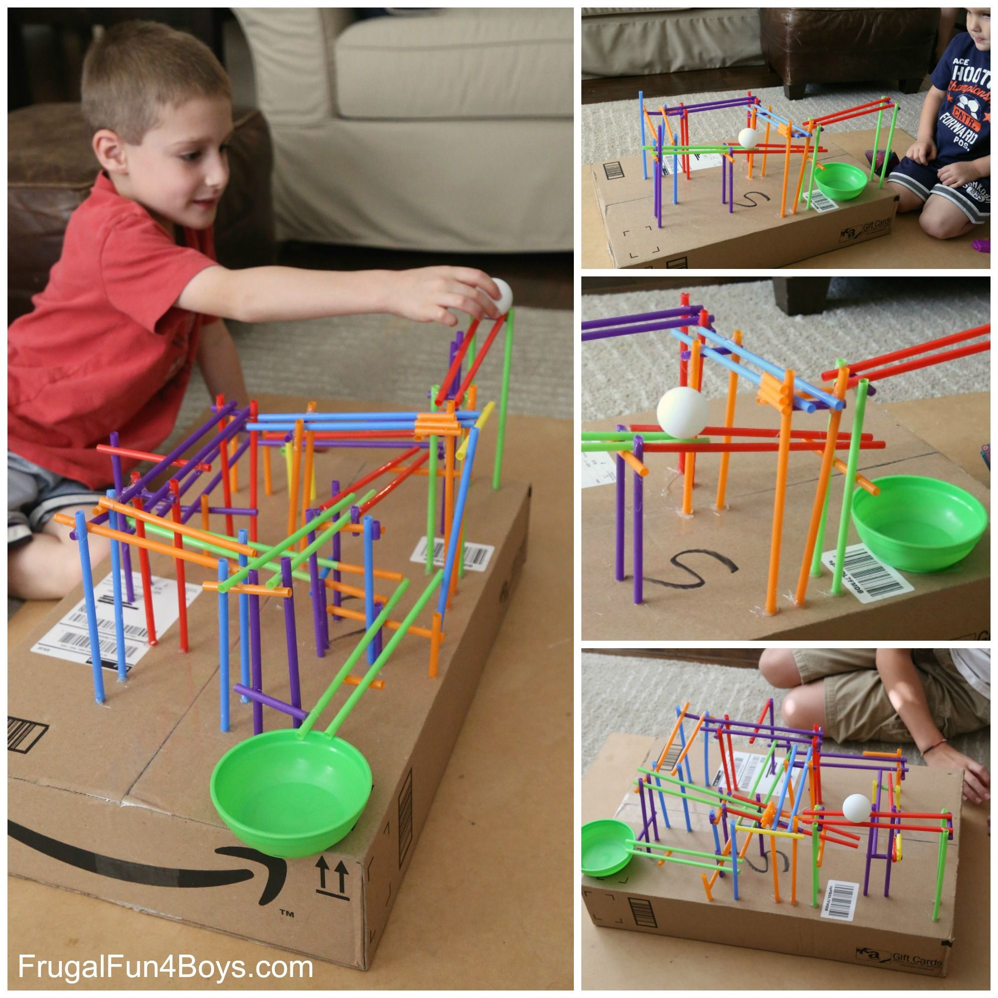Best ideas about Projects For Kids . Save or Pin Engineering Project for Kids Build a Straw Roller Coaster Now.