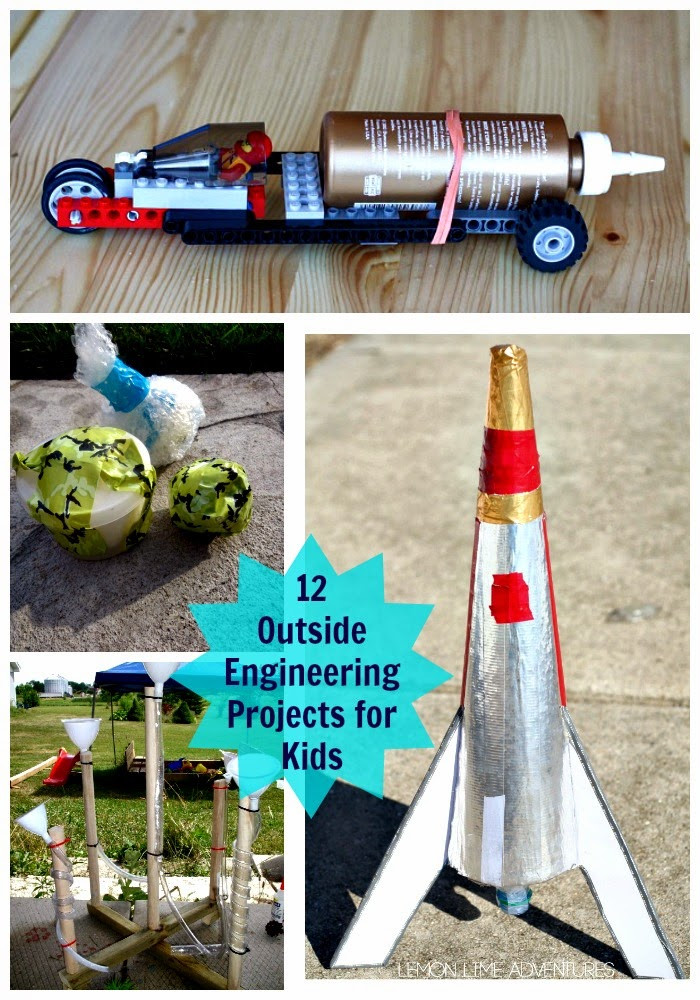 Best ideas about Projects For Kids . Save or Pin 12 Outside Engineering Projects for Kids Planet Smarty Pants Now.