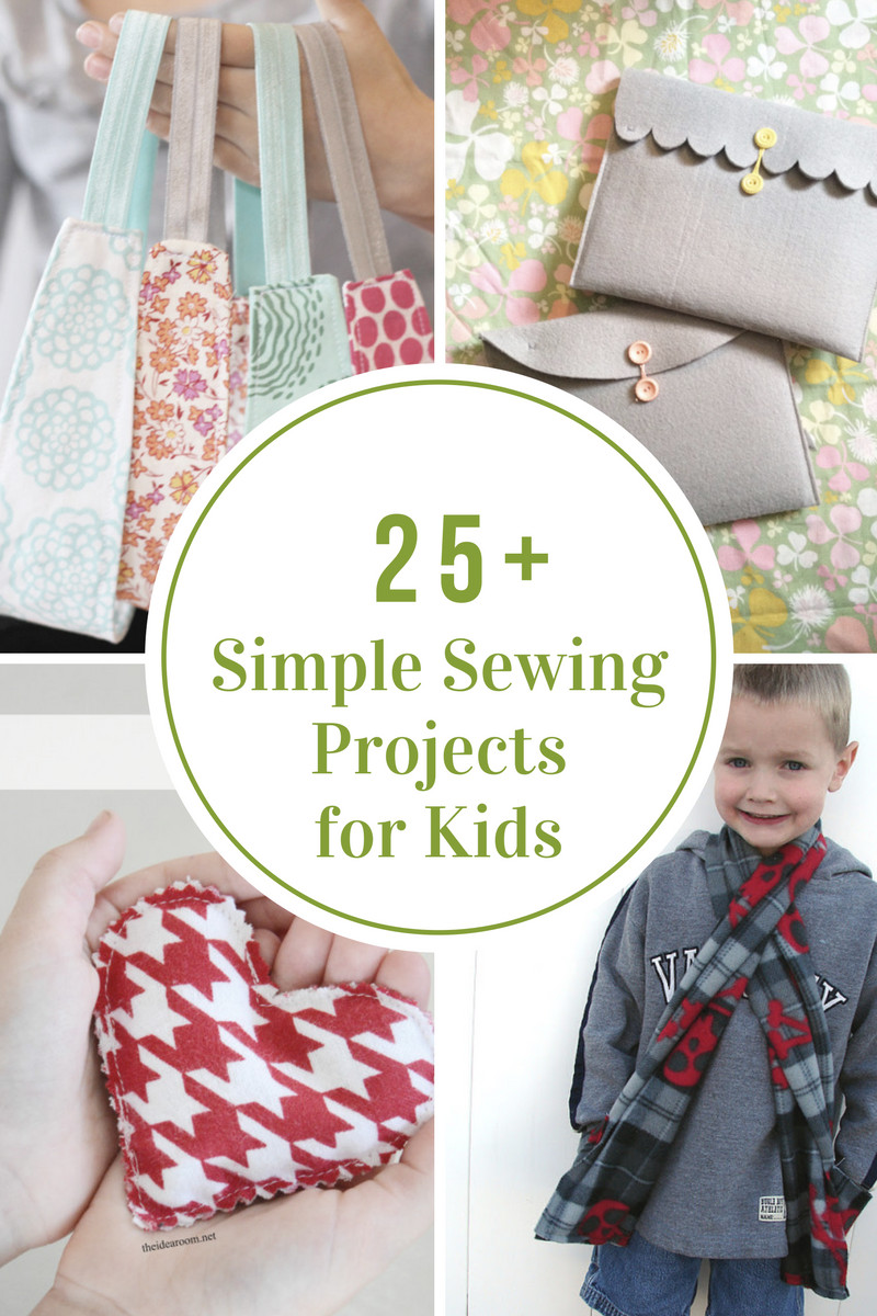 Best ideas about Projects For Kids . Save or Pin Simple Sewing Projects for Kids The Idea Room Now.
