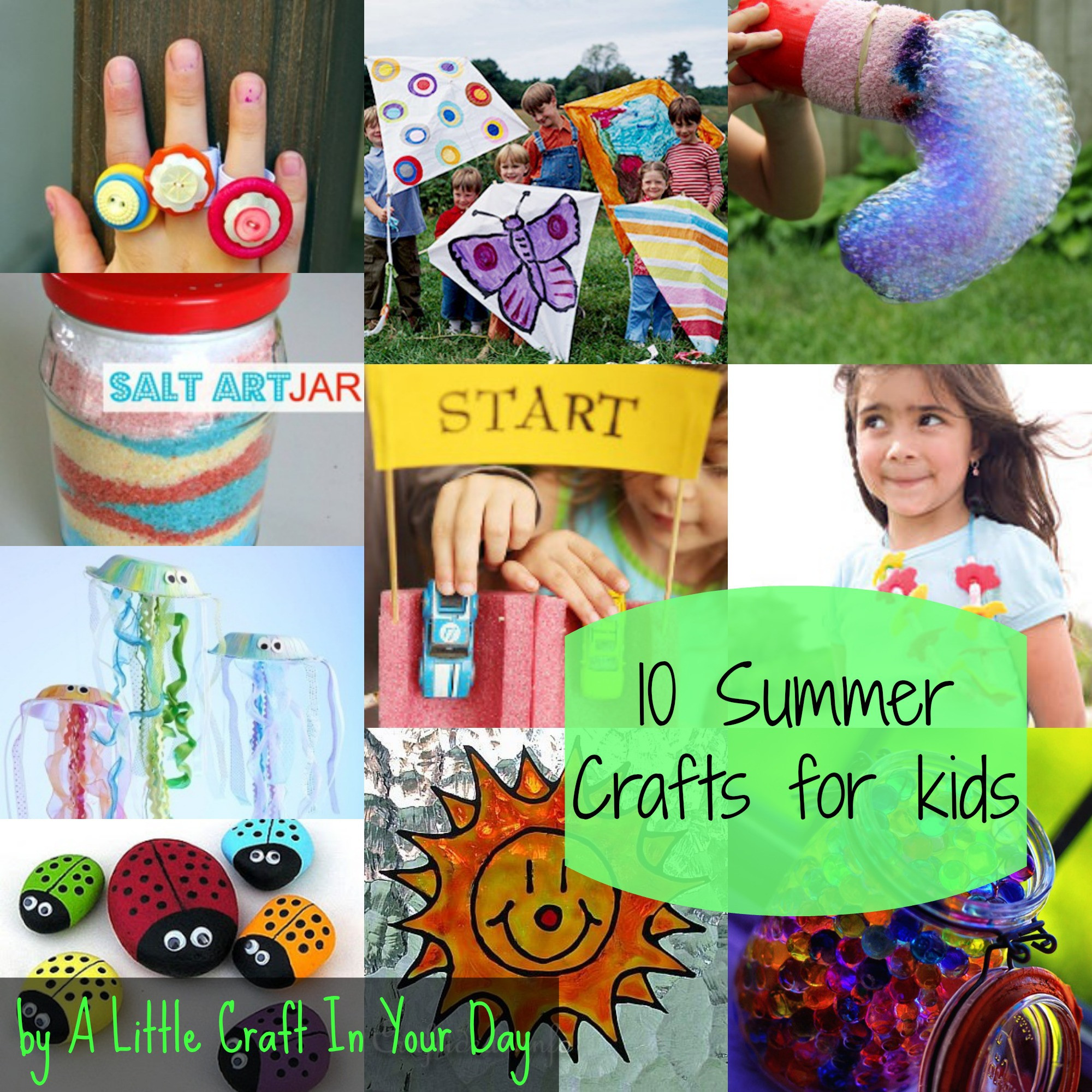 Best ideas about Projects For Little Kids . Save or Pin Kid Friendly Summer Crafts A Little Craft In Your Day Now.