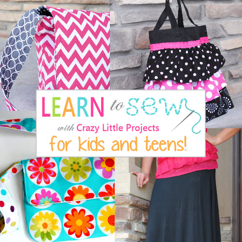 Best ideas about Projects For Little Kids . Save or Pin Learn to Sew Kids Zipper Crazy Little Projects Now.
