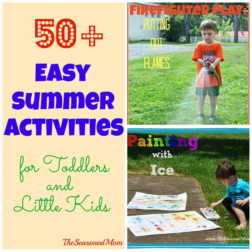Best ideas about Projects For Little Kids . Save or Pin 50 Easy Summer Activities for Toddlers and Little Kids Now.