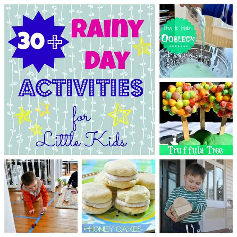 Best ideas about Projects For Little Kids . Save or Pin 30 Rainy Day Activities for Little Kids The Seasoned Mom Now.