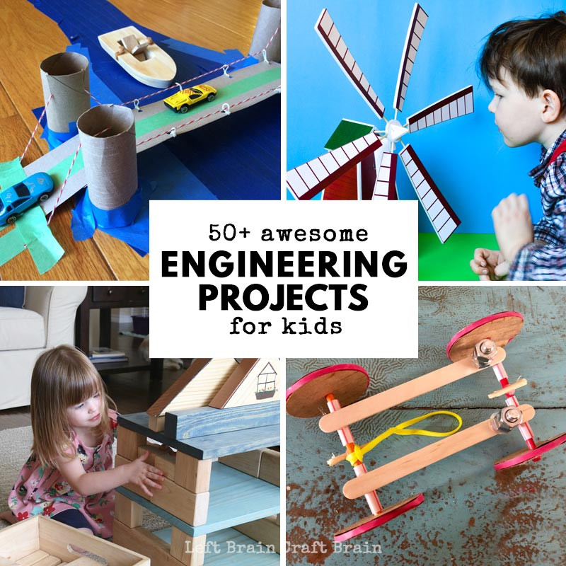 Best ideas about Projects For Little Kids . Save or Pin 50 Awesome Engineering Projects for Kids Left Brain Now.