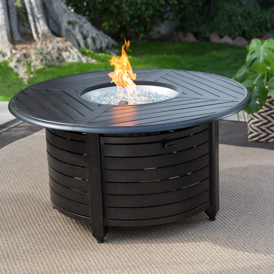 Best ideas about Propane Fire Pit Coffee Table . Save or Pin Coffee Table Red Ember Richland In Round Propane Fire Pit Now.