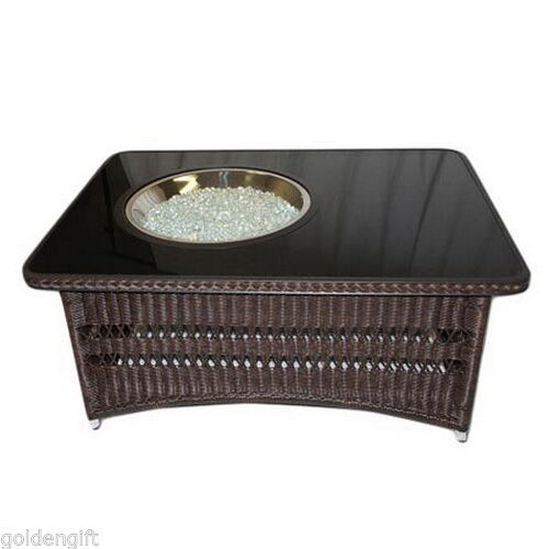 Best ideas about Propane Fire Pit Coffee Table . Save or Pin Coffee Table Fire Pit Propane Gas Patio Backyard Porch Now.