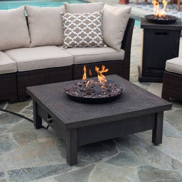 Best ideas about Propane Fire Pit Coffee Table . Save or Pin gas fire pit coffee table DIY Projects Now.