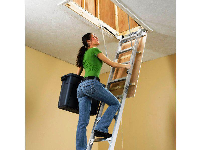 Best ideas about Pull Down Attic Stairs Lowes . Save or Pin Best Attic Stairs — Capricornradio HomesCapricornradio Homes Now.